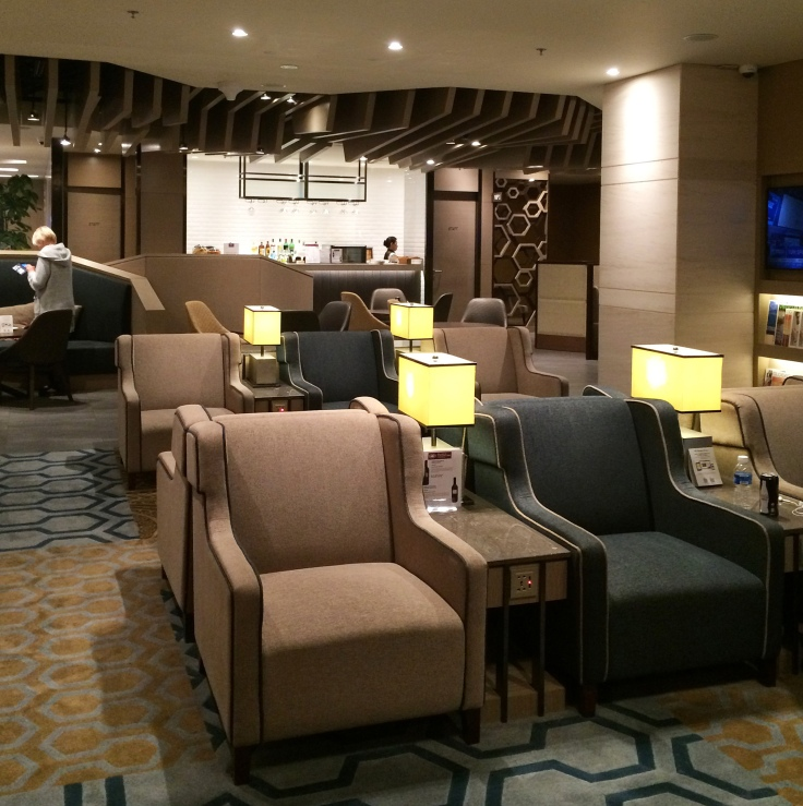 Plaza Premium lounge at SIN T1